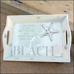 Tray - starfish beach