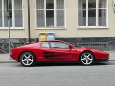 Ferrari Testarossa. It may be rubbish but its still a childhood hero