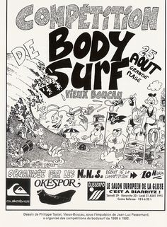 Poster Surf, Surf Posters, Biarritz, Surf Art, Surfing, Cartoon Art, Barefoot, Artists, Drawing Drawing