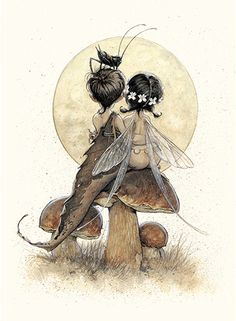 Jean-Baptiste Monge Official Website Professional Illustrator, Painter, Character Designer Publishing and Entertainment JBMonge (c) Copyright Elfen Tattoo, Fairy Drawings, Fairytale Drawings, Fairy Tattoo Designs, Fairy Pictures, Vintage Fairies, Creature Drawings, Fairytale Art, Fairy Art