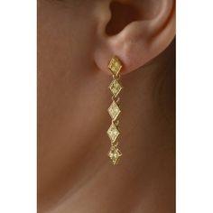 Long Dangle Earrings, Solid Gold, Gold Earrings, #longdangleearrings #solidgold #goldearrings #elegantearrings #vintagestyle #vintageearrings #ethnicearrings #bohoearrings #bohemianearrings #handengraving #readytoship #saleearrings #giftforher