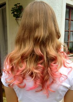 I made it for my sister. It's a pastel pink ombre:)