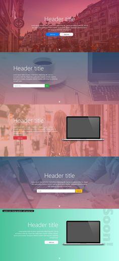 13 Best Web design header images in 2018