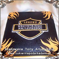 010. Tort w stylu Harleya Davidsona. Harley Davidson cake.