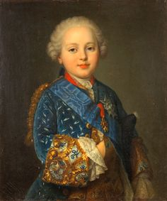 THE PRINCE H.R.H. Prince Louis of France, Duke de Berry, later King of France (1754-1793)