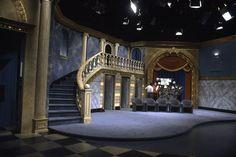 Wide shot of the Richard Bey Show set for WWOR-TV