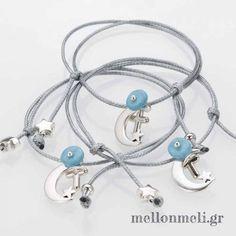 """Μαρτυρικό Αφήτεχνο """"Αστέρι-Φεγγάρι"""" βραχιόλι Friendship Bracelets, Headphones, Crafts, Wedding, Cakes, Rosaries, Memories, Bangle Bracelets, Mariage"""