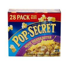 Pop Secret Nutrition Facts