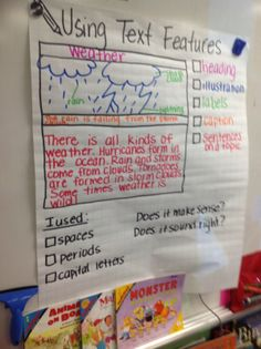 Text Features Anchor Chart | pinterest inspired chart to use nonfiction text features in our ...