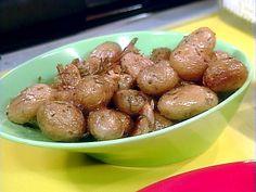 Rachel Ray's Roasted Baby Potatos with Rosemary Recipe. made this today! yum!