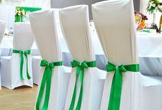 Стрейчевые свадебные чехлы
