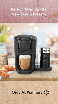 Make endless lattes however you like with the new Keurig K-Latte for $99, only at Walmart!