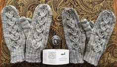 Ravelry: Enid Mittens pattern by The Rambling Knitter Mittens Pattern, Knitting Accessories, Knitted Bags, Double Knitting, Needles Sizes, Knitting Stitches, Knit Patterns, Gloves, Crafts