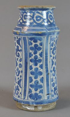 pharmacy jar 15th c Valencia Inventario: FC.2014.02.14