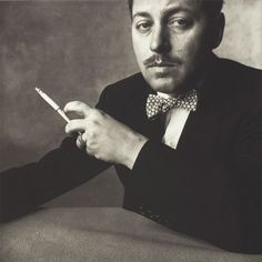 Tennessee Williams by Irving Penn