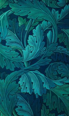 Mirella Bee Cross Pollinating Pattern Visionist and Designer — thecolorcommunity: William Morris: 1873 Acanthus. Motifs Textiles, Photocollage, Motif Floral, Floral Design, Arts And Crafts Movement, Grafik Design, Textures Patterns, Print Patterns, Leaf Patterns