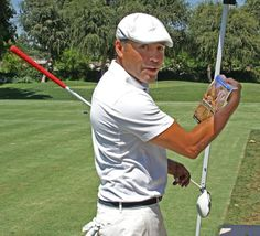 "Oscar De La Hoya ""get's ripped"" at the 12th Annual Celebrity Golf Classic"