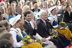The King, the Queen, Crown Princess Victoria, Prince Daniel, Prince Carl Philip, Princess Sofia, and Princess Madeleine attend a concert at Skansen today  ------------------------------------------------------------------------ #princecarlphilip #princesssofia #princessmadeleine #crownprincessvictoria #princedaniel #kingcarlxvigustaf #queensilvia #swedishnationalday #nationaldagen