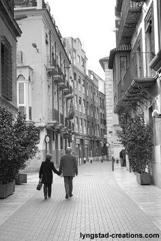 Old couple in love (taken in Murcia, spain)