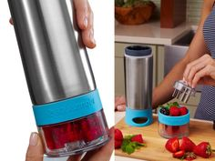 Aqua Zinger Fruit Infusing Water Bottle by Zing Anything from Mariel Hemingway on OpenSky