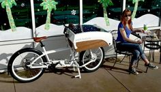 Lasten-E-Bike NTS SunCycle fährt mit Sonnenenergie