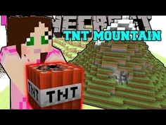 popularmmos Pat and Jen Minecraft  MOUNTAINS OF TNT! TOTAL HOUSE BOMBOVE...