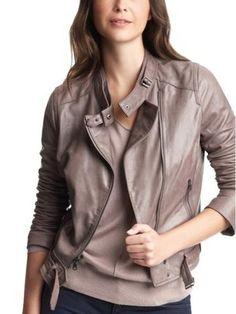 Gap leather jacket.
