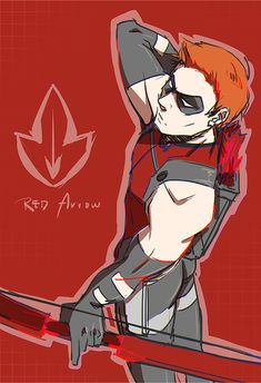 Red Arrow I prefer Red Arrow's personality to Arsenal's in Young Justice.