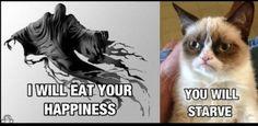 Dementor vs. Grumpy Cat                                                                                                                                                                                 More