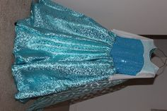 Frozen Elsa Dress Frozen Elsa Cosplay Costume by PoshaDesigns