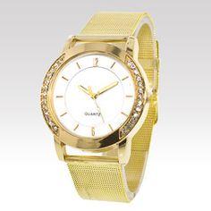 Hodinky Trim Gold Watch, Wayfarer, Watches, Accessories, Wristwatches, Clocks, Jewelry Accessories