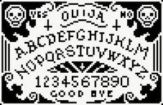 HELL YEAH!!!!Ouija board cross-stitch pattern.