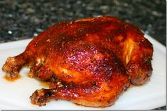 """Cook Lisa Cook: """"Rotisserie"""" Chicken THIS IS THE BEST CHICKEN EVER! I made this tonight and we loved it."""