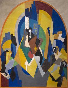 'Espace rythmé selon le plan' (1920) by Albert Gleizes