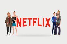 """Popatrz na ten projekt w @Behance: """"Netflix - Fathers Day"""" https://www.behance.net/gallery/42183983/Netflix-Fathers-Day"""