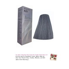 Silver ASH Grey Permanent Hair Dye Cream Lolane Goth [Get Free Tomato Facial Mask   Free Gift : Tao Kae Noi Big Sheet 4g] -- Click on the image for additional details. #hairmake