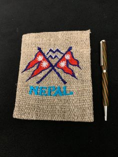 Excited to share the latest addition to my shop: Hemp Cover Lokta Journal Made In Nepal Handmade Nepal Flag Nepal Flag, Artist And Craftsman, Eco Friendly Paper, Prayer Flags, Journal Notebook, Hemp, Etsy Store, Handmade Items, My Etsy Shop