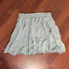 Brandy Melville blue soft skirt Worn only once, in a great condition, very soft and delicate :) Brandy Melville Skirts