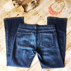 J. Crew Hipslung Jeans ONE DAY ONLY SALE!!! PRICE FIRM! J. Crew jeans in the Hipslung style in great condition. J. Crew Jeans