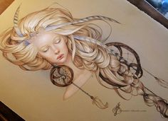 Pencil Art, Pencil Drawings, Art Drawings, Illustrations, Illustration Art, Dream Catcher Pictures, Dream Catcher Drawing, Dream Catchers, Tatoo