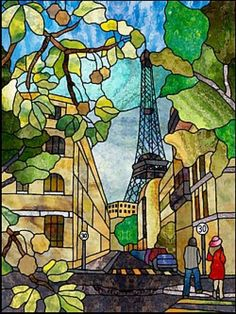 Chantel Stained Glass Patterns Pleasant Chantal S Stained Glass Patterns Paris & Eiffel tower – stained glass Stained Glass Quilt, Making Stained Glass, Stained Glass Flowers, Stained Glass Designs, Stained Glass Panels, Stained Glass Projects, Stained Glass Patterns, Eiffel Tower Painting, Mosaic Glass