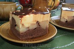 Food Cakes, Cake Recipes, Decoupage, Cheesecake, Cooking Recipes, Pudding, Sweets, Baking, Healthy