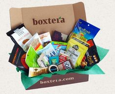 Boxtera: Monthly subscription box to help you find healthier treats for the family