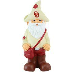 Oklahoma Sooners Team Mascot Gnome