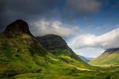 Glencoe 2 of the 3 sisters  I've also been here :)