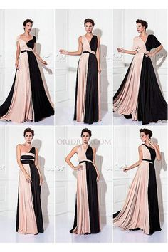 Sheath/Column Floor-length Knit Convertible Dress ~ I NEEDSheath / Column V-neck Floor Length Knit Prom Formal Evening Military Ball Dress with Sash / Ribbon Pleats by TS Couture®Design your own Chiffon Floor Length Pink Convertible Dress A Line Bri Prom Party Dresses, Ball Dresses, Bridesmaid Dresses, Wedding Dresses, Tulle Wedding, Evening Dresses Online, Cheap Evening Dresses, Trendy Dresses, Dresses For Sale