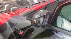 Ford Focus Wing Mirror Rain Deflectors Visor Smoked Eyebrows St RS for sale online Car Tuning, Ford Focus, Jaguar, Eyebrows, Rain, Smoke, Mirror, Vehicles, Exterior