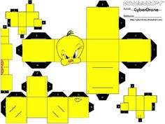 Cubee - Tweety by CyberDrone on deviantART
