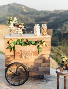 Wedding S'mores Bar