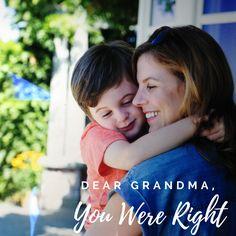 Dear Grandma, You were right My Children, Kids, Young Children, Children, Kid, Children's Comics, Child, Kids Part